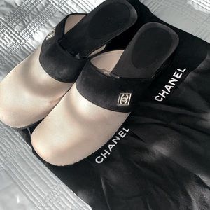 Chanel Designer Deck Clogs